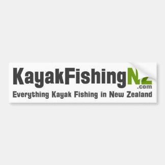 KayakFishingNZ.com Sticker