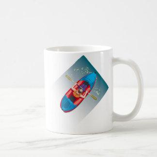 Kayaking Basic White Mug