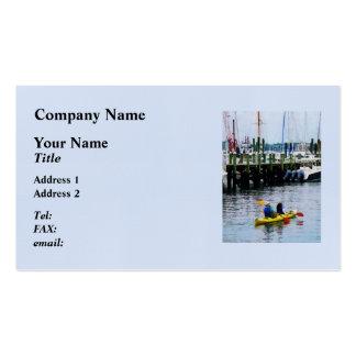 Kayaking Bristol RI Pack Of Standard Business Cards