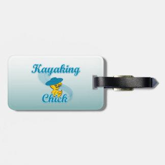 Kayaking Chick. #3 Bag Tags