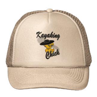 Kayaking Chick #4 Mesh Hats
