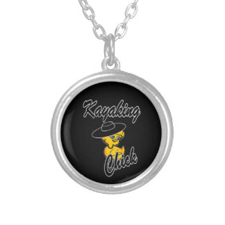 Kayaking Chick #4 Necklace
