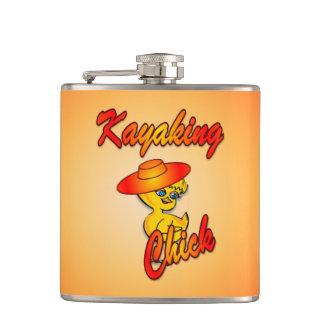 Kayaking Chick #5 Flask