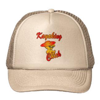 Kayaking Chick #5 Hat
