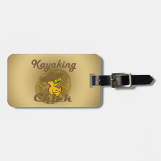 Kayaking Chick #6 Bag Tags