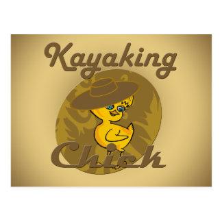 Kayaking Chick #6 Postcard