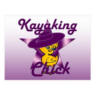 Kayaking Chick #9 Postcard