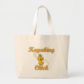Kayaking Chick Canvas Bags