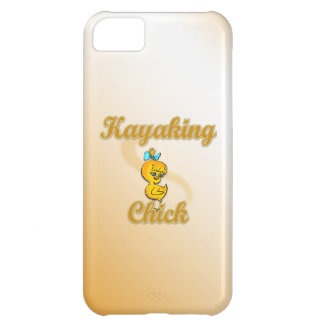 Kayaking Chick iPhone 5C Cover