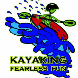 Kayaking Fearless Fun Gifts Standing Photo Sculpture