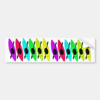 Kayaking Gifts for Kayak Lovers Bumper Sticker