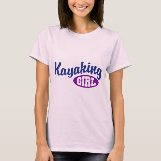 Kayaking Girl T-Shirt