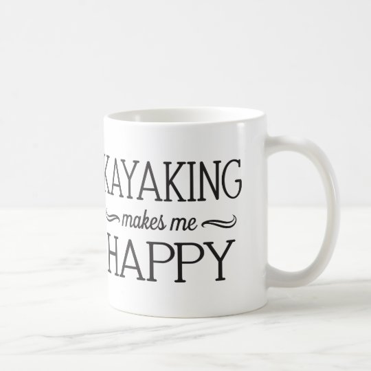 Kayaking Happy Mug - Assorted Styles