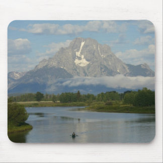 Kayaking in Grand Teton National Park Mouse Pad