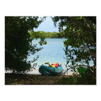 Kayaking in St. Thomas US Virgin Islands Photo