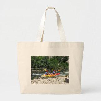 Kayaking Jumbo Tote Bag