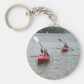 Kayaking Kids Keychain