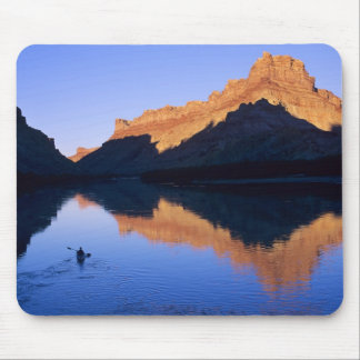 Kayaking on the Colorado River in Spanish Mouse Pad