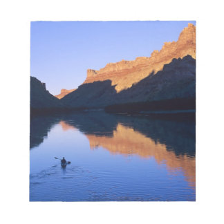 Kayaking on the Colorado River in Spanish Notepad