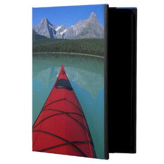 Kayaking on Waterfowl Lake below Howse Peak Cover For iPad Air