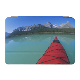 Kayaking on Waterfowl Lake below Howse Peak iPad Mini Cover