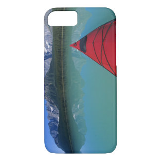 Kayaking on Waterfowl Lake below Howse Peak iPhone 8/7 Case