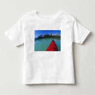 Kayaking on Waterfowl Lake below Howse Peak Toddler T-Shirt