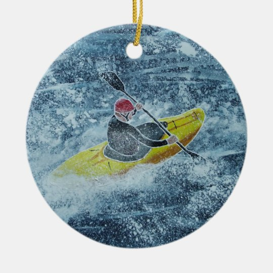 Kayaking ornament