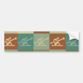 Kayaking Pop Art Bumper Stickers