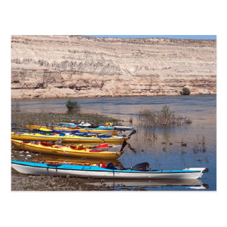 Kayaking Post Card