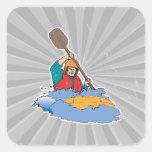 kayaking rafting graphic