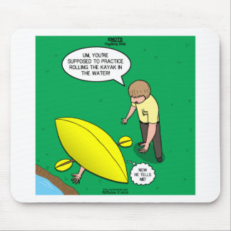 Kayaking Skills Mouse Pad