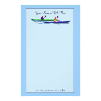 Kayaking Stationery
