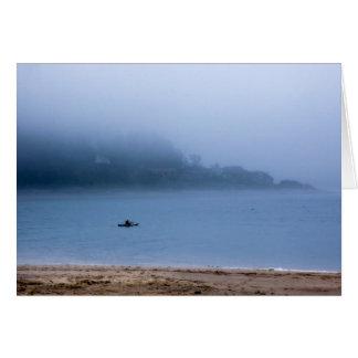 Kayaking the blue card