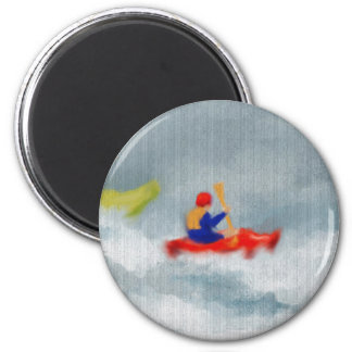 Kayaks Art Magnet