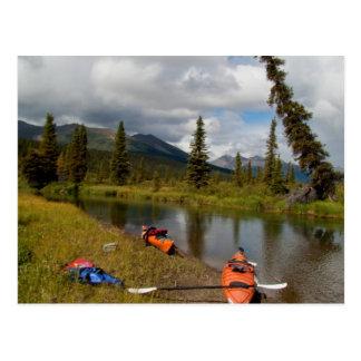 Kayaks at Rest Postcard