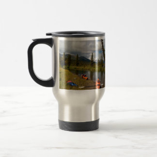 Kayaks at Rest Travel Mug