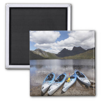 Kayaks, Cradle Mountain and Dove Lake, Cradle Fridge Magnets