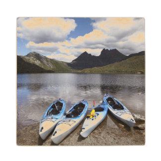 Kayaks, Cradle Mountain and Dove Lake, Cradle Wood Coaster