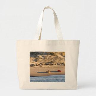 Kayaks Large Tote Bag