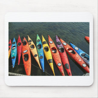 Kayaks! Mouse Pad