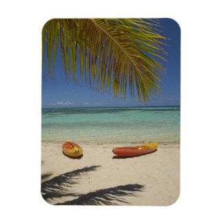 Kayaks on the beach, Plantation Island Resort 2 Magnet