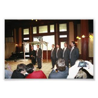 KAYE-HOLDEN WEDDING: GROOM & USHERS PHOTO ART