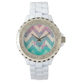 Kayla Chevron Watch