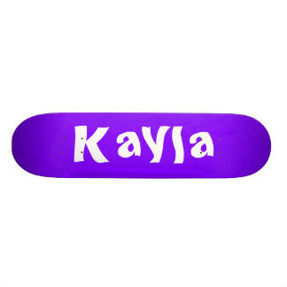 Kayla Personalized Skateboard