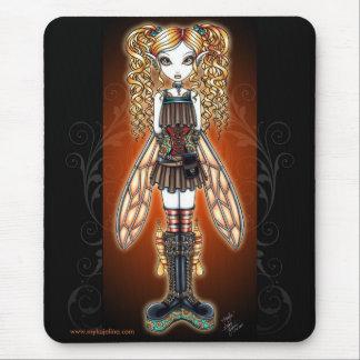 """Kayla"" Steampunk Fairy Mouspad Mouse Pad"