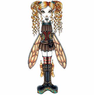 Kayla Steampunk Fairy Photo Sculpture