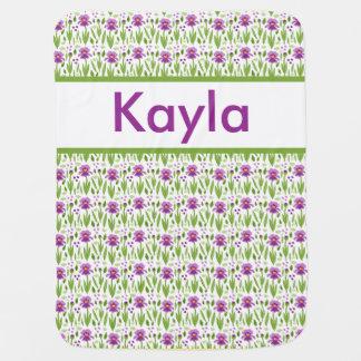 Kayla's Personalized Iris Blanket