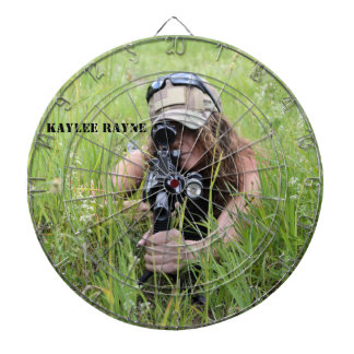 "Kaylee Rayne- ""Sniper"" Dartboard"