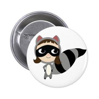 Kaylee the Raccoon Pin